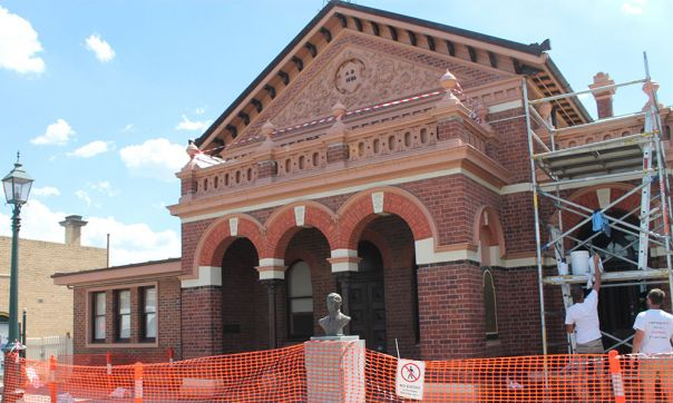 Traralgon Court House external works